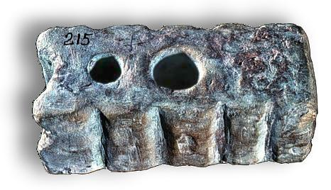 Bronze Age Swage Block - Source photograph copyright (c) Institute of Nautical Archaeology